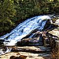 Triple Falls II by Steven Richardson