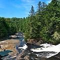 Triple Falls North Carolina by Steve Karol