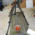 Tripod And Cherries On Floor by Rich Franco