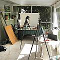 Tripods And Set Up by Rich Franco