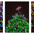 Triptych - Christmas Trees - Featured 3 by Alexander Senin