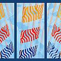 Triptych Sunrise 2 by Alexander Senin