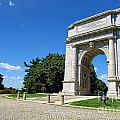 Triumph And Sorrow Arch  by Olivier Le Queinec