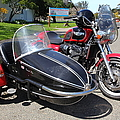 Triumph Motorcycle With Sidecar 5d28099 by Wingsdomain Art and Photography