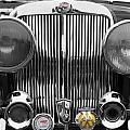 Triumph Roadster Front End Selective Color by Scott Campbell