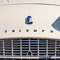 Triumph Tr3 Grille Emblem by Jill Reger