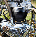 Triumph Trophy Engine by Tim Gainey