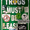 Trogs Must Be Leashed by Jeff Gater