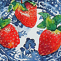 Trois Fraises by Beverly Fagan Gilbertson