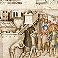 Trojans Enlarging Gate Of Troy by British Library