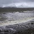 Trollaskagi Black Sand Beach by For Ninety One Days