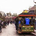 Trolley Car Main Street Disneyland 02 by Thomas Woolworth