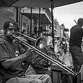 Trombone In New Orleans 2 by David Morefield