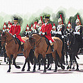 Trooping Of The Colour by Roger Lighterness