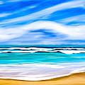 Tropical Beach Dreams - Caribbean Sea by Mark Tisdale