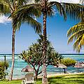 Tropical Beach. Mauritius by Jenny Rainbow