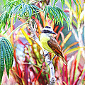 Tropical Bird In Colorful Costa Rica by Peggy Collins