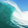 Tropical Blue Ocean Wave by Design Pics Vibe