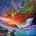 Tropical Color Mosaic by Joseph   Ruff
