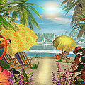 Tropical Delight by Caplyn Dor
