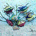 Tropical Fish 4 by Betty LaRue