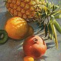 Tropical Fruit by Mia Tavonatti