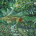 Tropical Garden by Betty Glanville