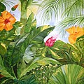 Tropical Garden by Graciela Castro
