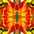 Tropical Leaf Pattern5 by Amy Vangsgard