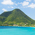 Tropical Panorama In The Caribbean by Matteo Colombo