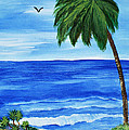 Tropical Path by Sherry Allen