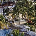 Tropical Resort Vacation by Mary Lou Chmura