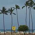 Tropical Storm Flossie Kapukaulua Beach Paia Maui Hawaii 2013 by Sharon Mau