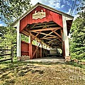 Trostle Town Covered Bridge by Adam Jewell