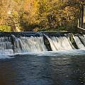 Trout Run Creek Dam 2 by John Brueske
