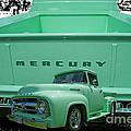 Truck In Tailgate by Randy Harris