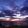 True Blue Sunset by Melissa Darnell Glowacki