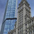 Trump And Wrigley Facades by Thomas Woolworth