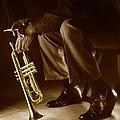 Trumpet 2 by Tony Cordoza