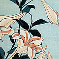 Trumpet Lilies by Hokusai