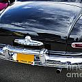 Trunk And Tail Lights 1949 Mercury Classic Car In Color 3199.02 by M K Miller