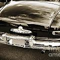 Trunk And Tail Lights 1949 Mercury Classic Car In Sepia 3199.01 by M K Miller