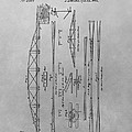 Truss Bridge Patent Drawing by Dan Sproul