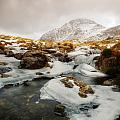 Tryfan And Icy Afon Idwal by Beverly Cash