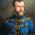 Tsar Nicholas II Of Russia by George Alexander