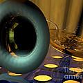 Tuba Goes Disco by R Muirhead Art