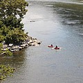 Tubing On The Potomac River At Harpers Ferry by William Kuta