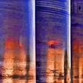 Tubular Sunset by Gary Holmes