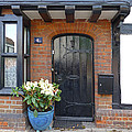 Tudor Cottage Doorway by Gill Billington