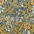 Tudor Roses Thistles And Shamrock by Voysey